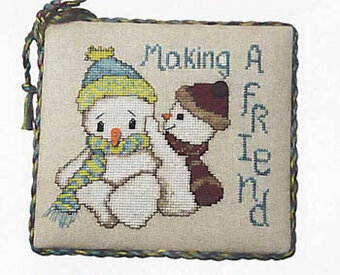 Making Friends - Cross Stitch Pattern