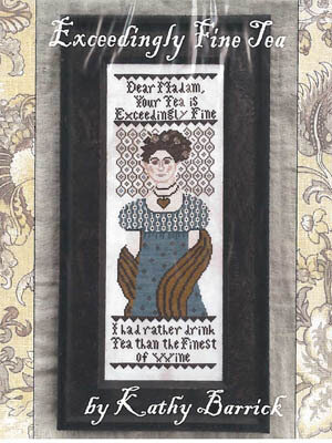Exceedingly Fine Tea - Cross Stitch Pattern