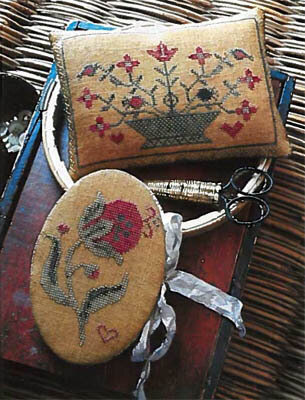 Summer Pomegranate Needle Book & Pinkeep