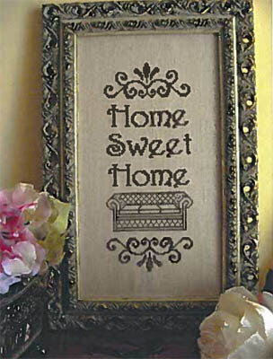 Home Sweet Home - Cross Stitch Pattern
