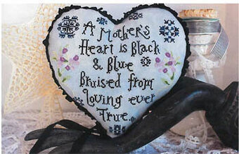 Mother's Heart - Cross Stitch Pattern