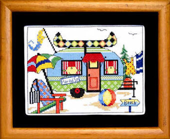 Summer Camper - Cross Stitch Pattern