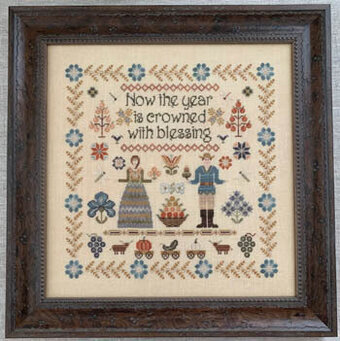 Harvest Hymn - Cross Stitch Pattern