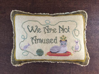 Not Amused - Life With Cats - Cross Stitch Pattern