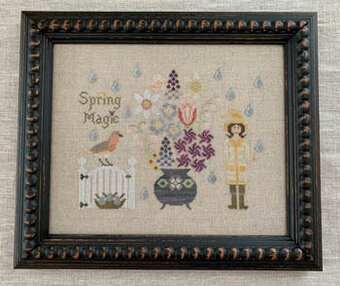 Spring Magic - Cross Stitch Pattern
