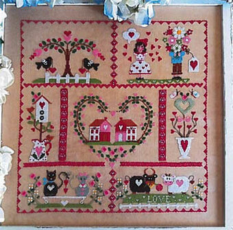 Primavera D'Amore - Cross Stitch Pattern