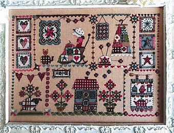 Quilting in Quilt - Cross Stitch Pattern