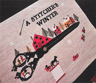 Stitcher's Winter - Cross Stitch Pattern