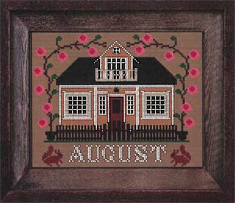 August - I'll be Home Mystery - Cross Stitch Pattern