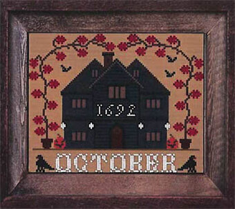 October - I'll be Home Mystery - Cross Stitch Pattern