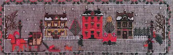 Christmas on Chestnut Road - Cross Stitch Pattern