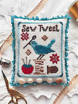 Sew Tweet - Cross Stitch Pattern