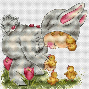Easter Bunny - Cross Stitch Pattern