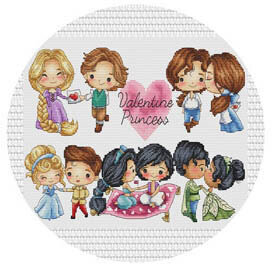 Valentine Princess - Needle Magnet