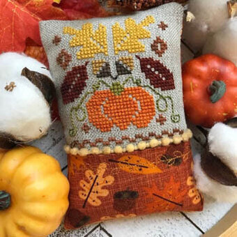 Little Fall Fling  - Cross Stitch Pattern
