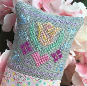 Little Spring Fling  - Cross Stitch Pattern
