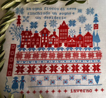 Il Mio Inverno - Cross Stitch Pattern
