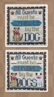 Dog Owner's Welcome - Cross Stitch Pattern