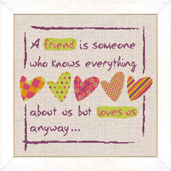 Friendship (USF010) - Cross Stitch Pattern