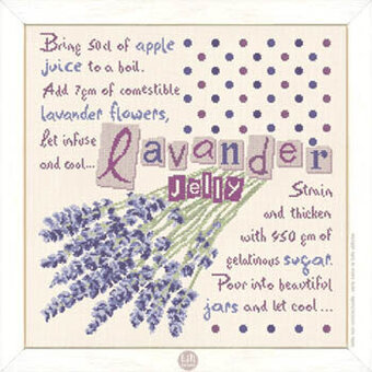 Lavander Jelly  (USG016) - Cross Stitch Pattern