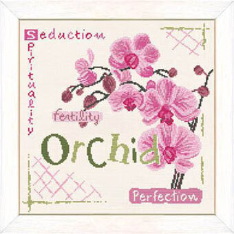 Orchid (USJ002) - Cross Stitch Pattern