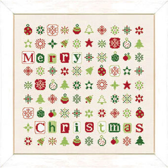 Christmas Starts (USN023) - Cross Stitch Pattern