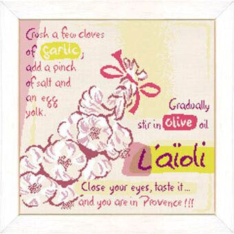 L'aioli  (P013) - Cross Stitch Pattern