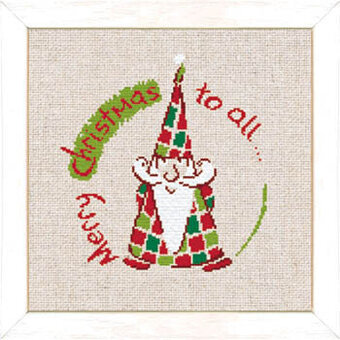 Little Santa Claus (USN017)- Cross Stitch Pattern