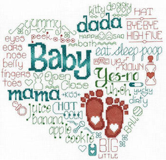 Let's Baby Talk - Cross Stitch Pattern