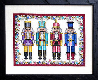 Royal Nutcrackers - Cross Stitch Pattern