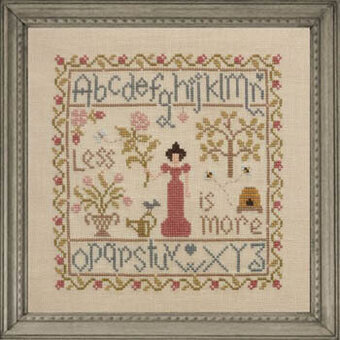 Less is More - Cross Stitch Pattern