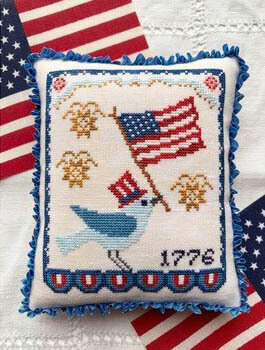 Bluebird's Salute - Cross Stitch Pattern