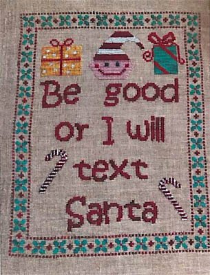 Be Good - Cross Stitch Pattern