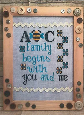 ABC Family - Cross Stitch Pattern