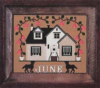 June Cottage - I'll be Home Mystery - Cross Stitch Pattern
