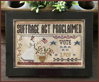 Suffrage Act - Cross Stitch Pattern