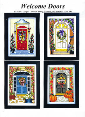Welcome Doors - Cross Stitch Pattern