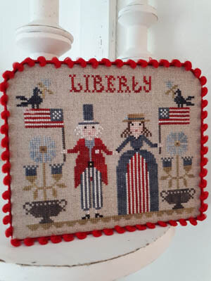 Liberty - Cross Stitch Pattern