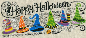Happy Halloween Quintet - Cross Stitch Pattern