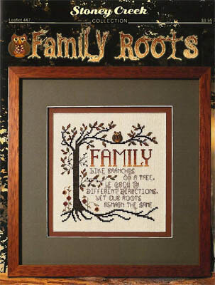 Family Roots - Cross Stitch Pattern