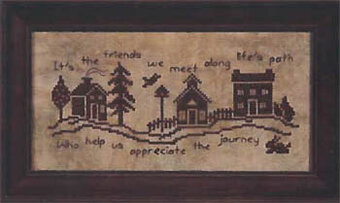 Life's Path - Cross Stitch Pattern