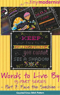 Words to Live By Part 7 - Cross Stitch Pattern