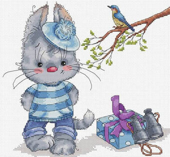 L'invitation - Cross Stitch Pattern