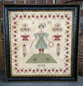 Anna Morgan 1845 - Cross Stitch Pattern