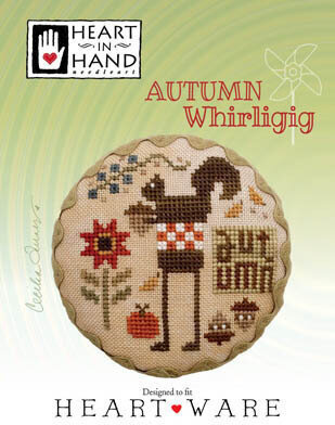 Autumn Whirligig - Cross Stitch Pattern