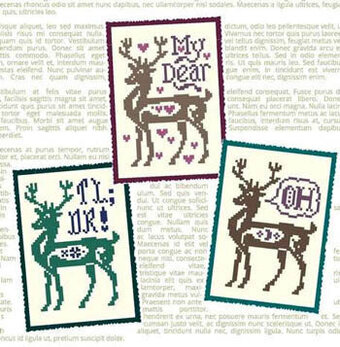 Deer Me - Cross Stitch Pattern