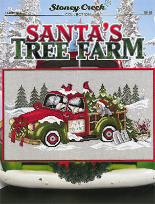 Santa's Tree Farm - Cross Stitch Pattern