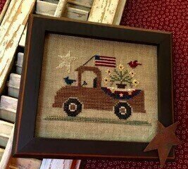 An All American Truck - Cross Stitch Pattern