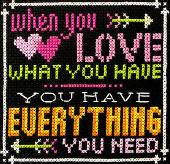 Words to Live By Part 8 - Cross Stitch Pattern