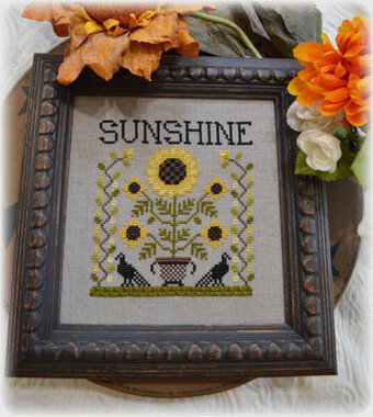 Sunshine - Cross Stitch Pattern